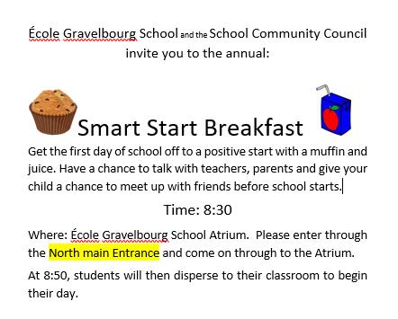 Smart Start Breakfast Advertisement