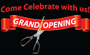 Grand Opening Ceremony- Today
